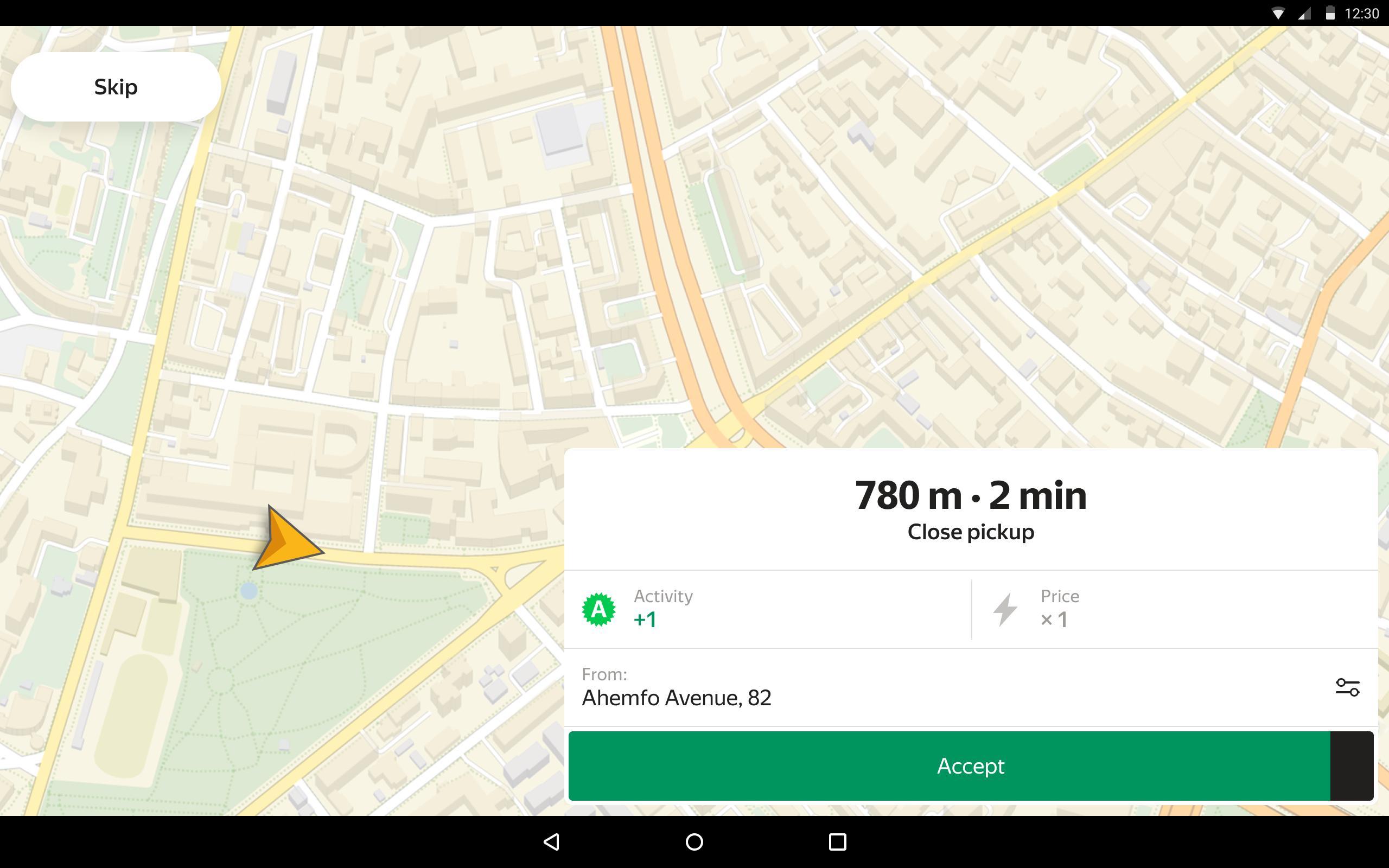Taximeter — start driving a taxi today 9.14 Screenshot 7