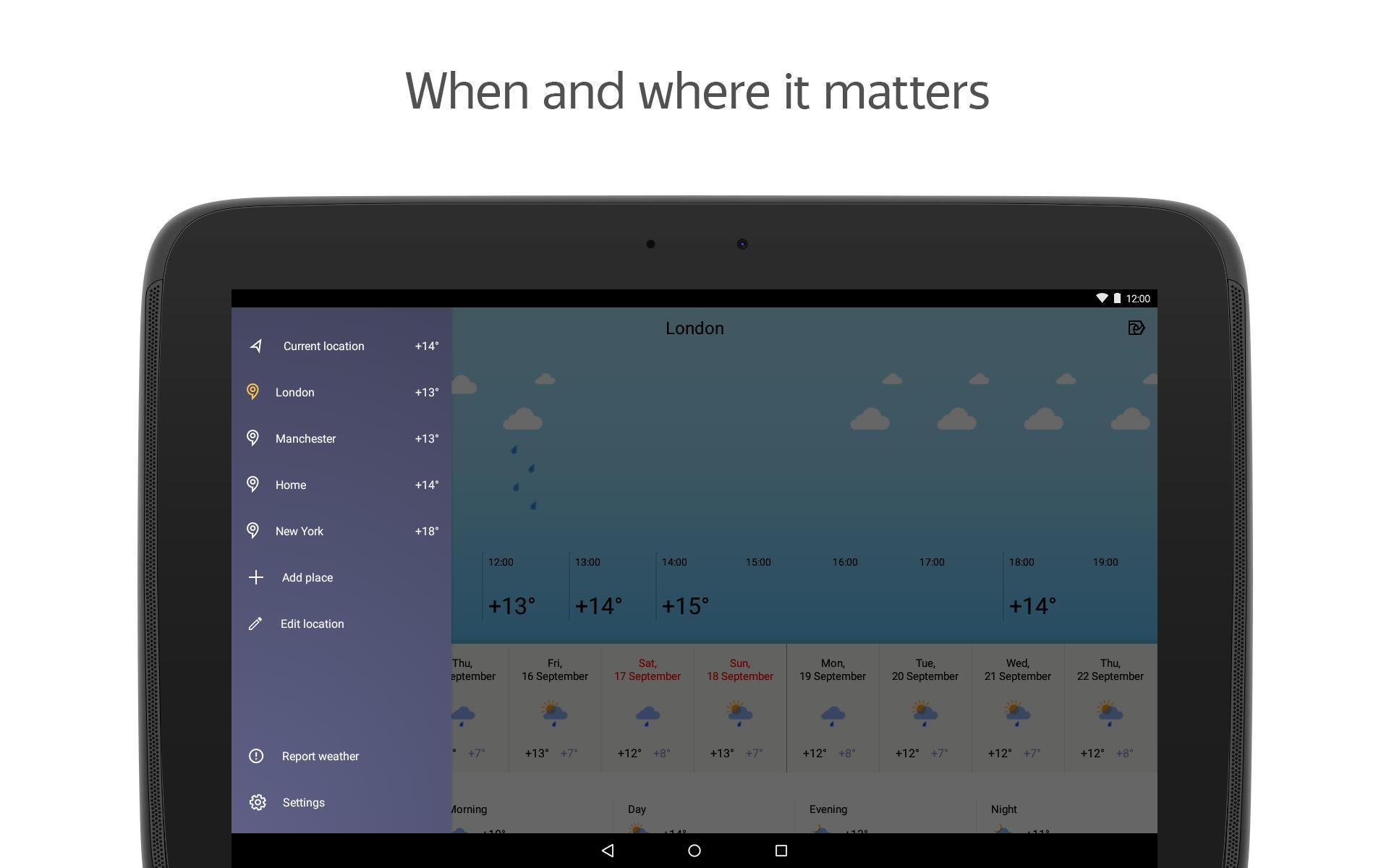Yandex.Weather 6.5.11 Screenshot 10