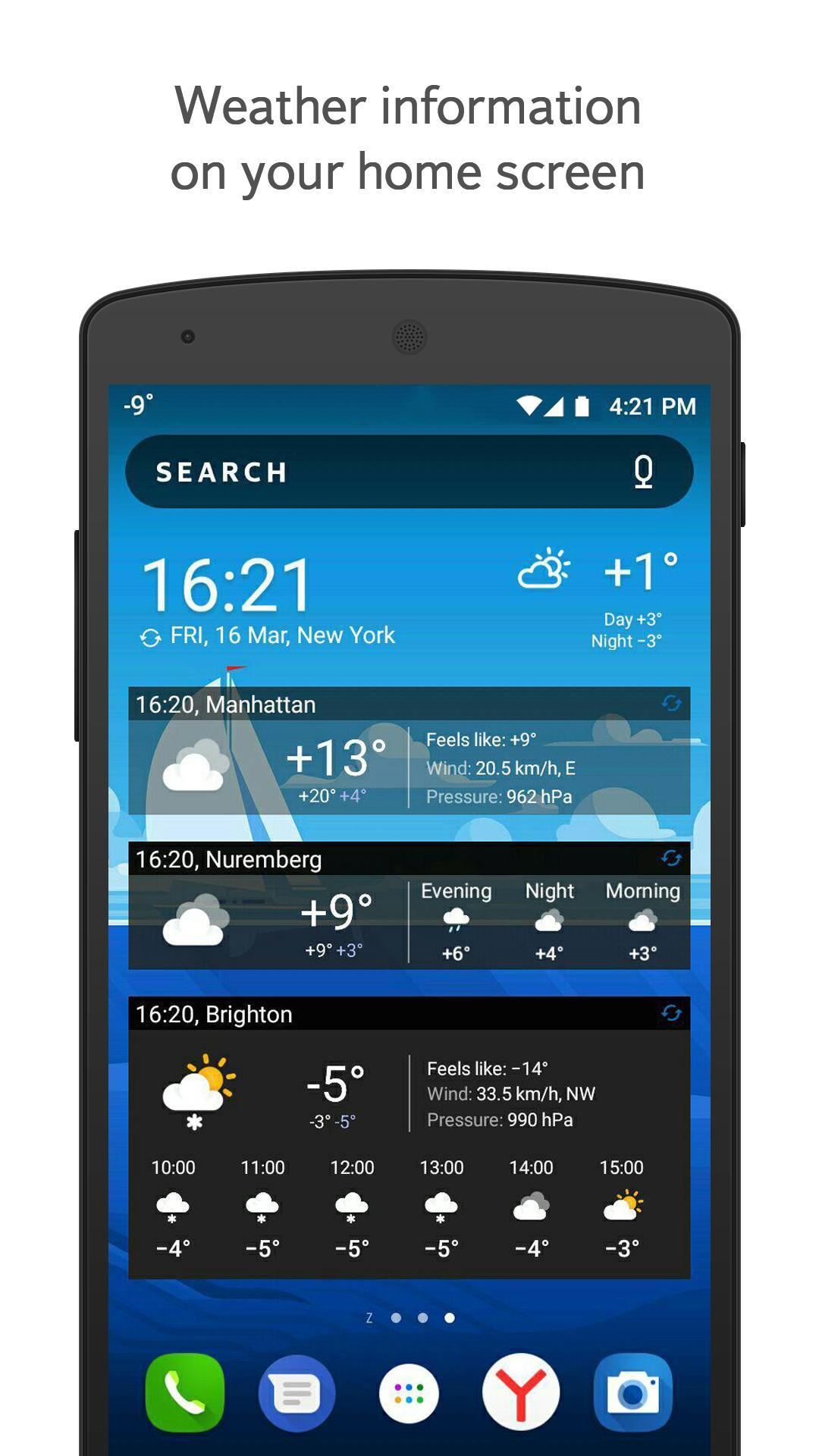 Yandex.Weather 6.5.11 Screenshot 5