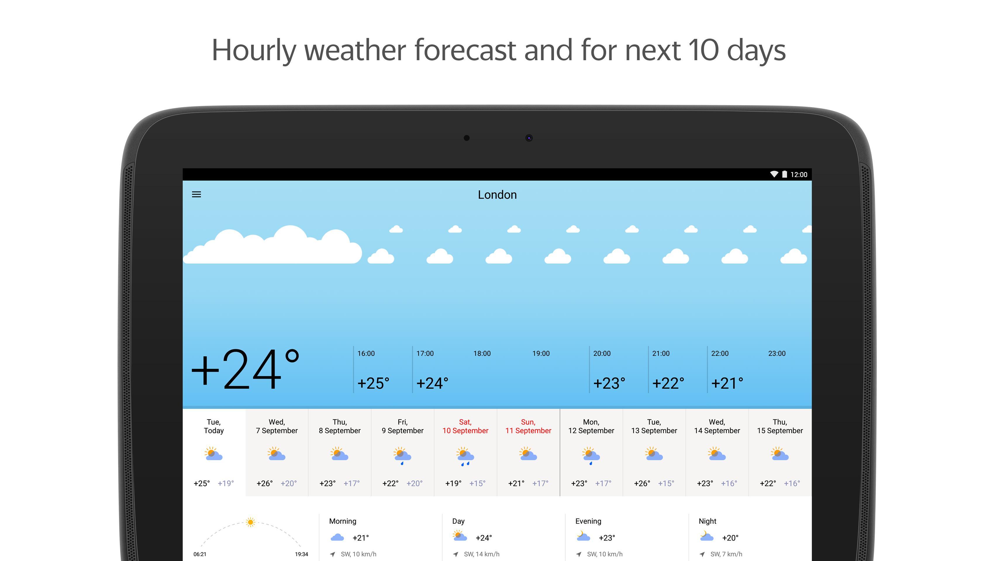 Yandex.Weather 6.5.11 Screenshot 6