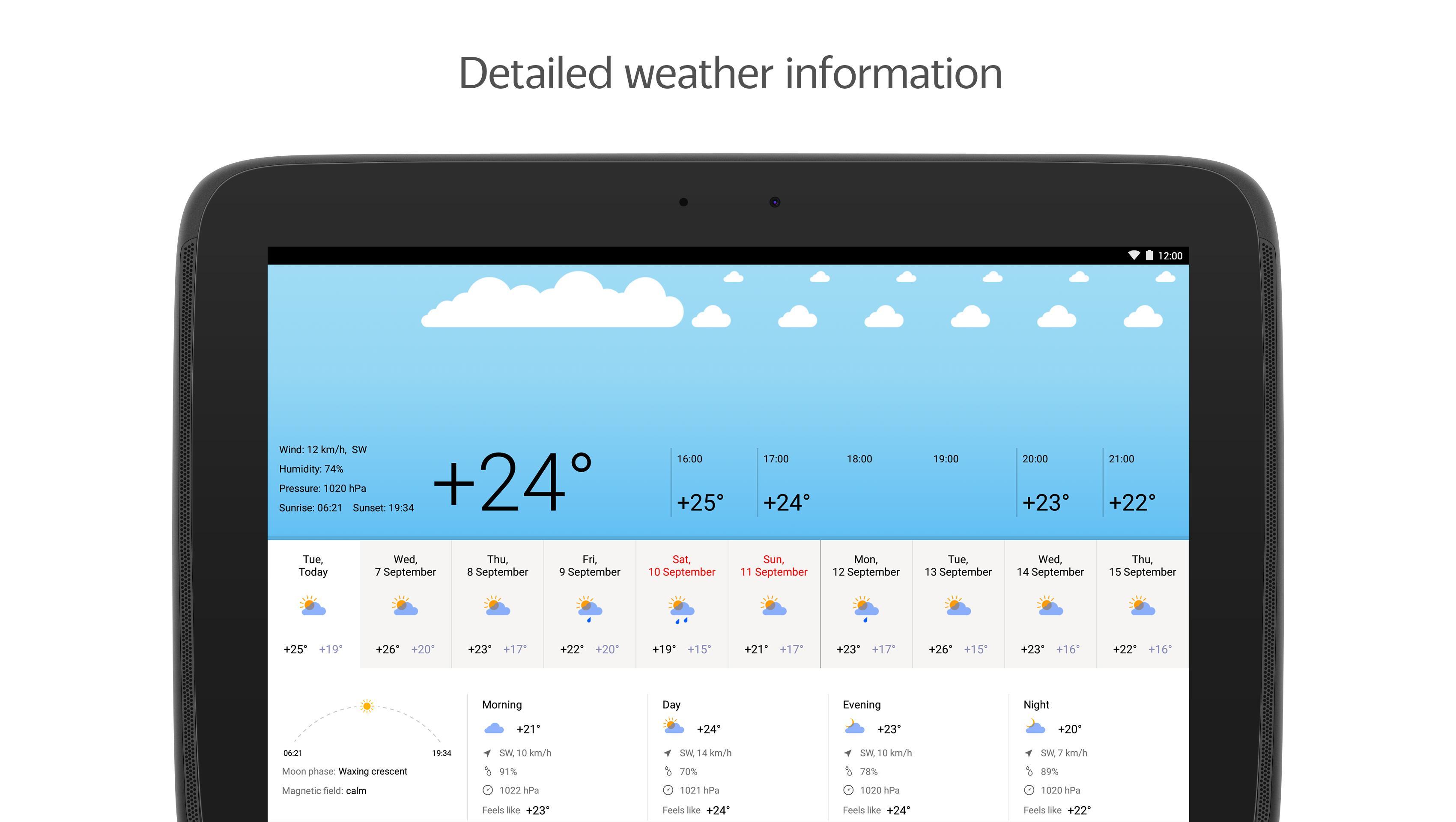 Yandex.Weather 6.5.11 Screenshot 8