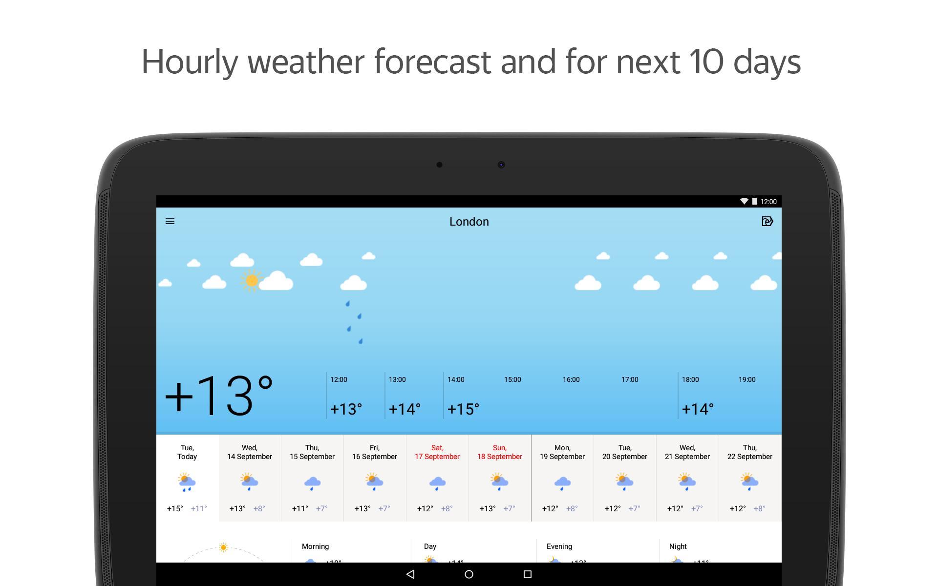 Yandex.Weather 6.5.11 Screenshot 9