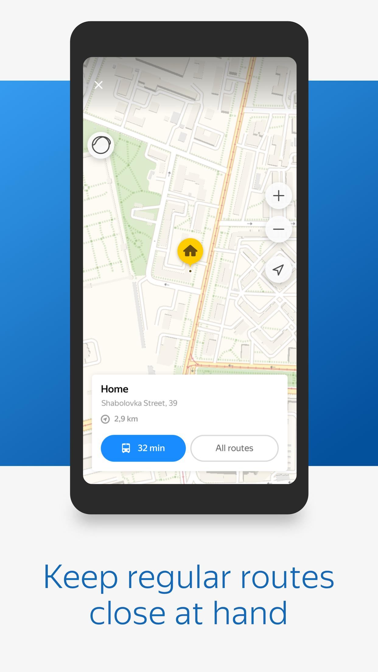 Yandex.Transport 6.3 Screenshot 3