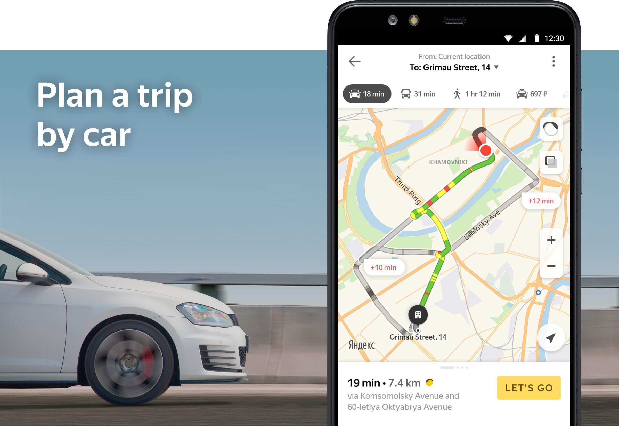 Yandex.Maps and Transport 9.1 Screenshot 6