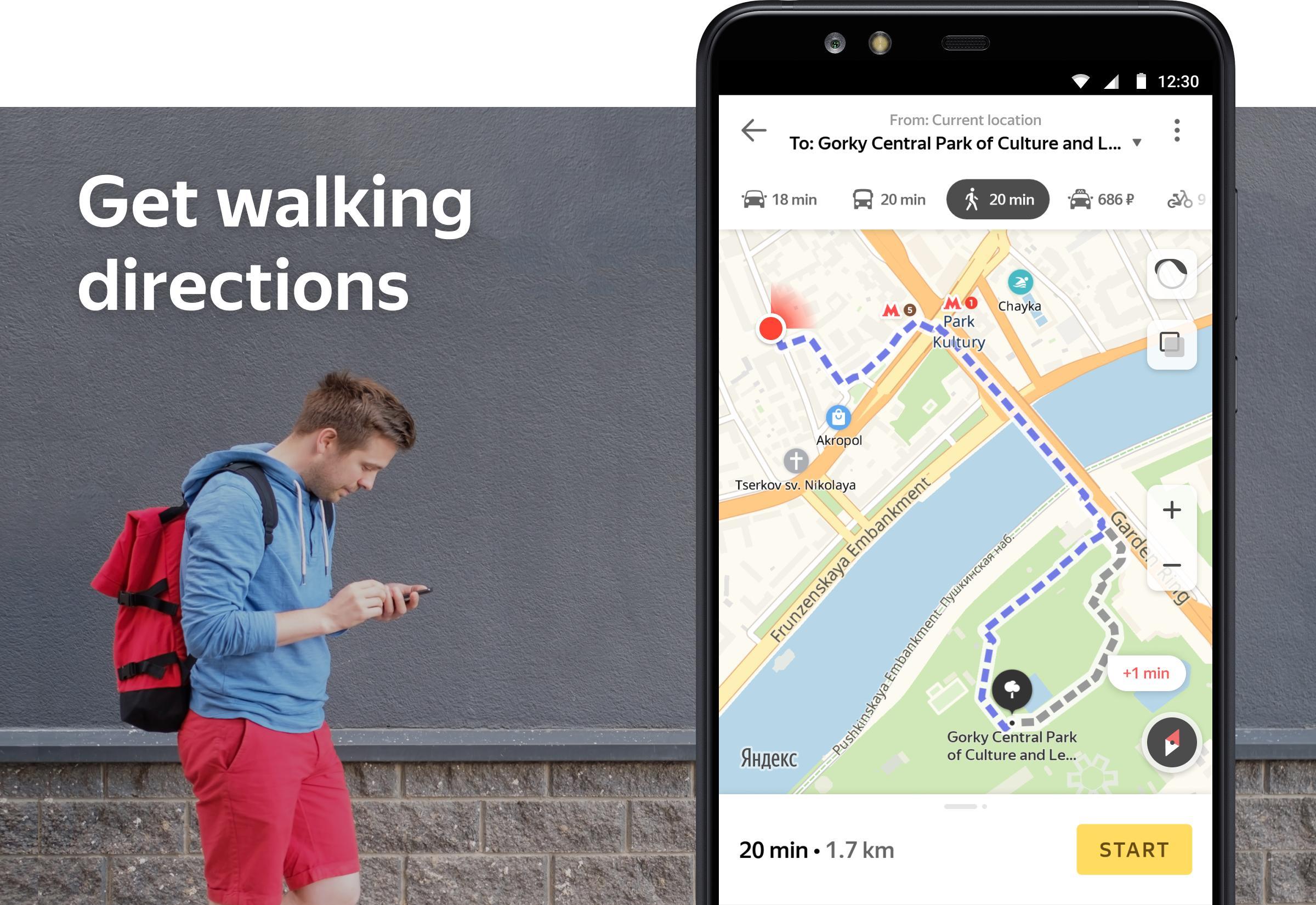 Yandex.Maps and Transport 9.1 Screenshot 7