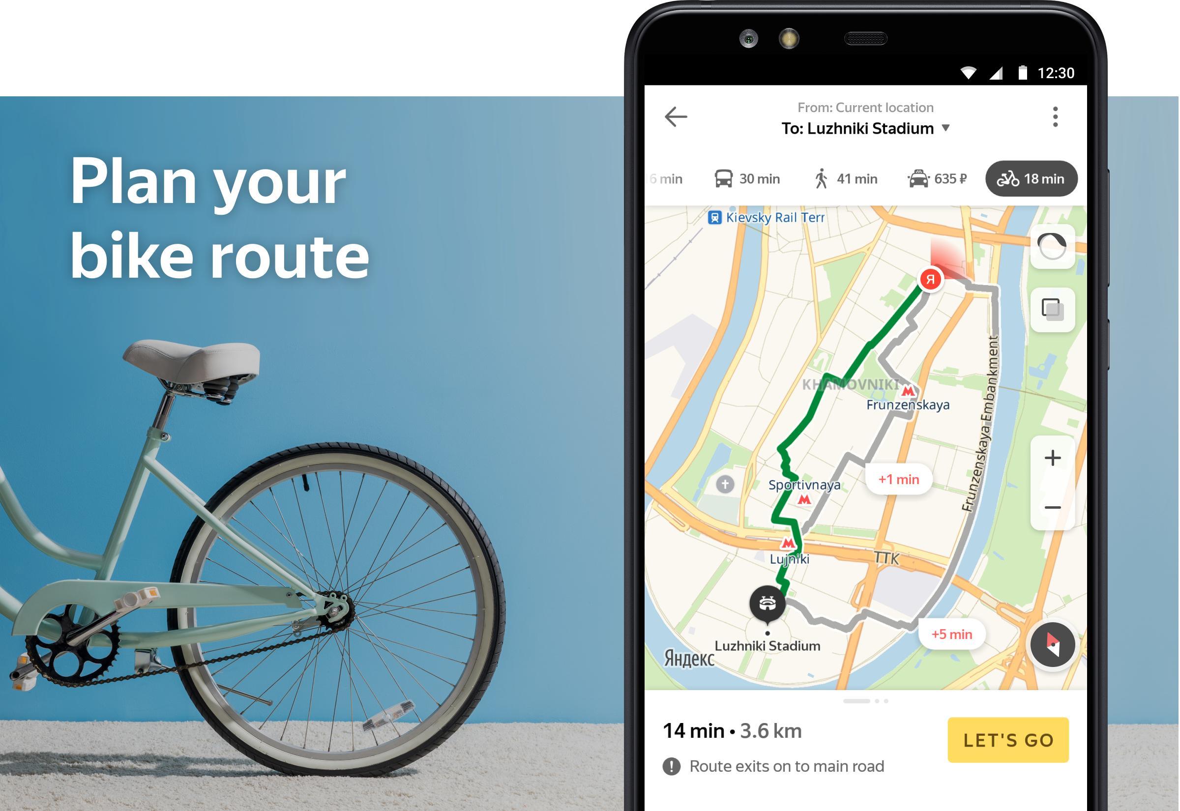 Yandex.Maps and Transport 9.1 Screenshot 8