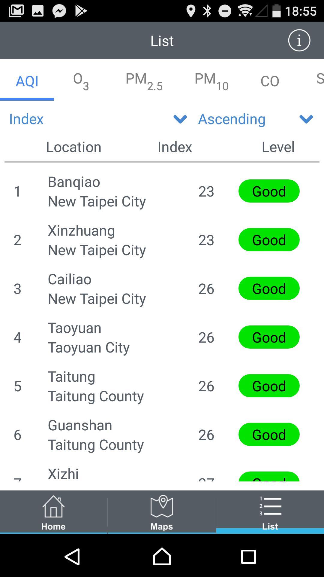 Environmental Info Push App 4.0.6 Screenshot 4