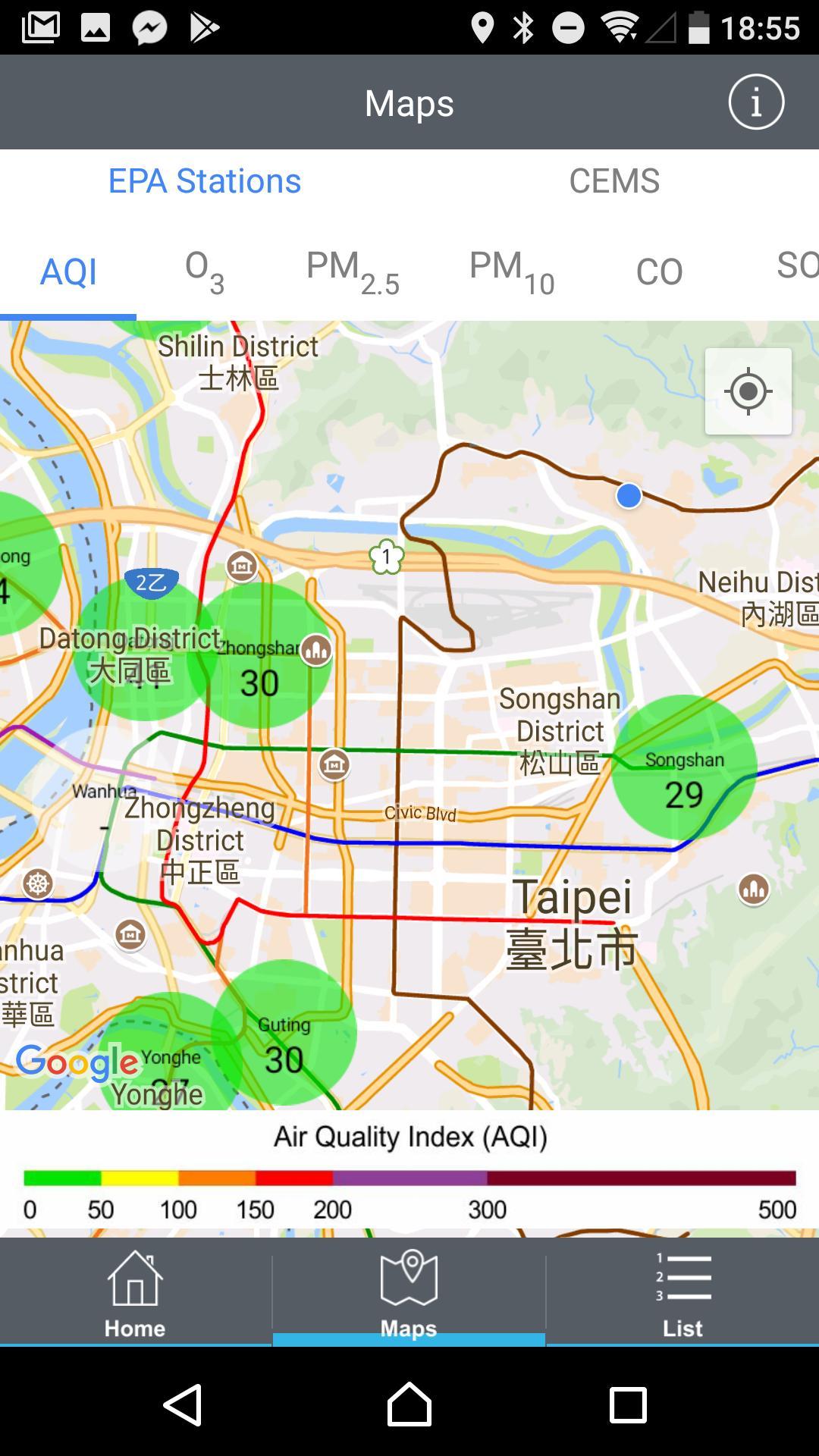 Environmental Info Push App 4.0.6 Screenshot 5