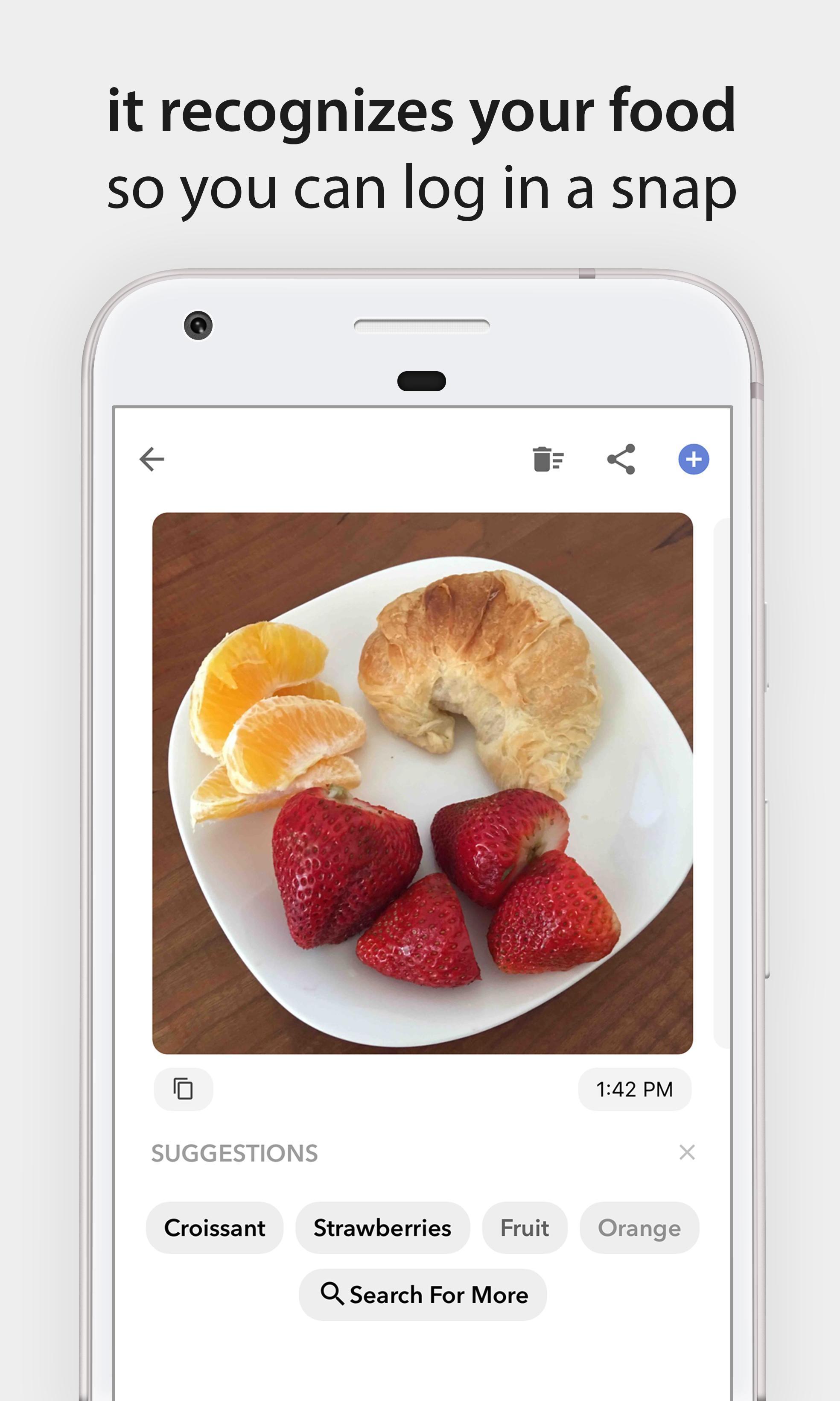 Bitesnap Photo Food Tracker and Calorie Counter 1.6.3 Screenshot 2