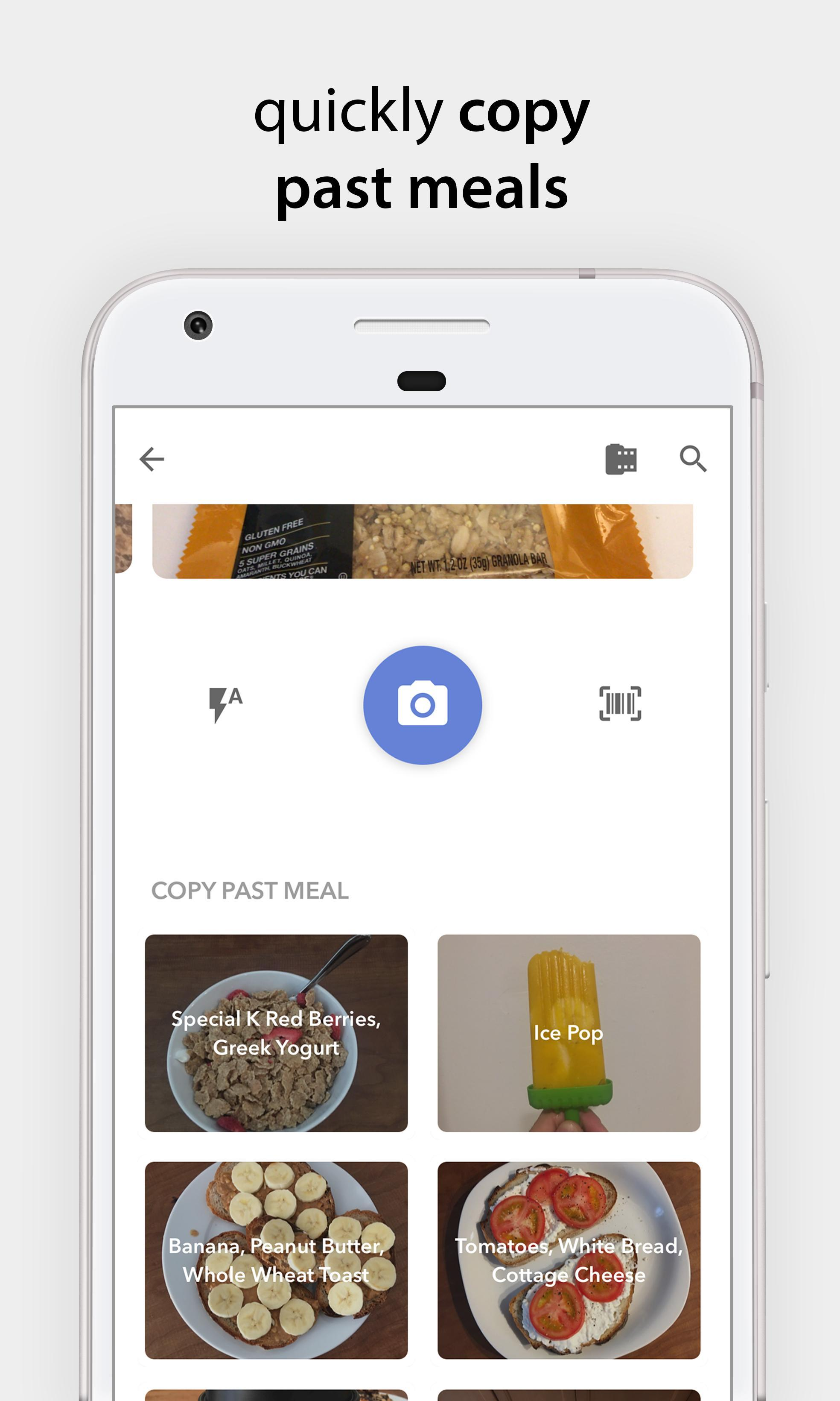 Bitesnap Photo Food Tracker and Calorie Counter 1.6.3 Screenshot 7