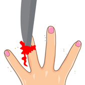 4 Fingers - free knife games app icon