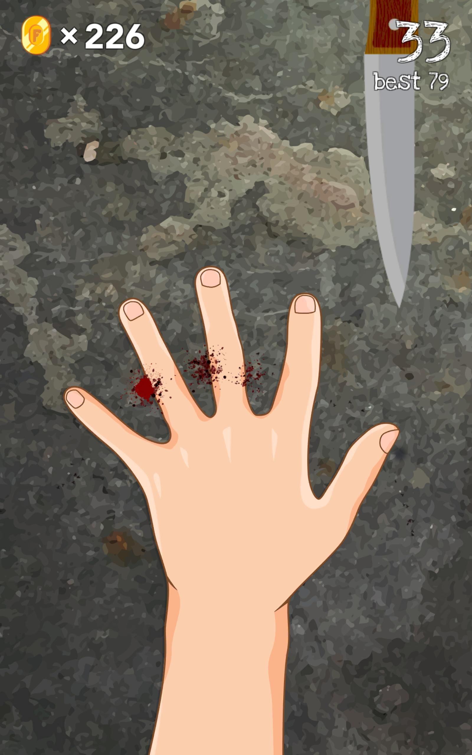 4 Fingers - free knife games 3.4 Screenshot 10