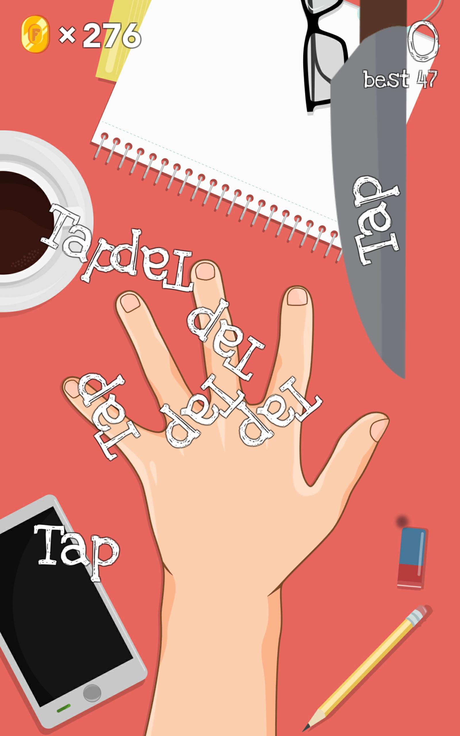 4 Fingers - free knife games 3.4 Screenshot 2