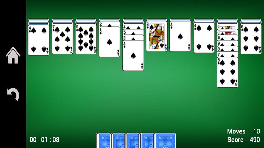 Spider Solitaire 1.17 Screenshot 1