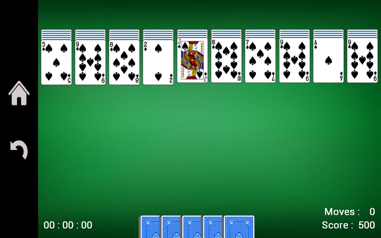 Spider Solitaire 1.17 Screenshot 3