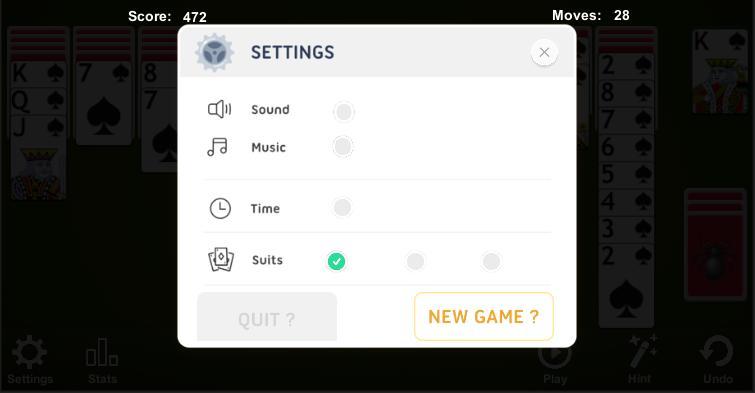 Spider Solitaire 4.7.4.6 Screenshot 5