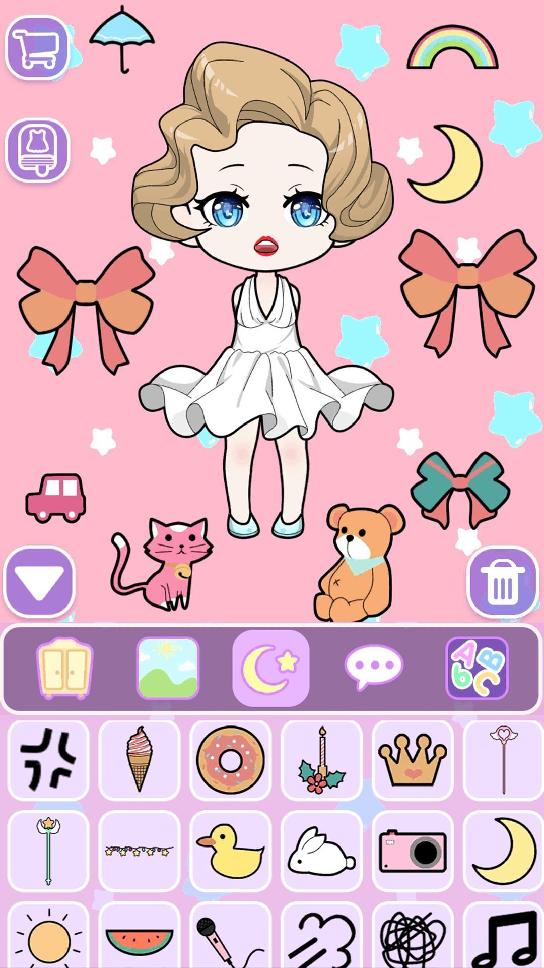 Vlinder Doll Dress up Games , Avatar Creator 1.2.1 Screenshot 11