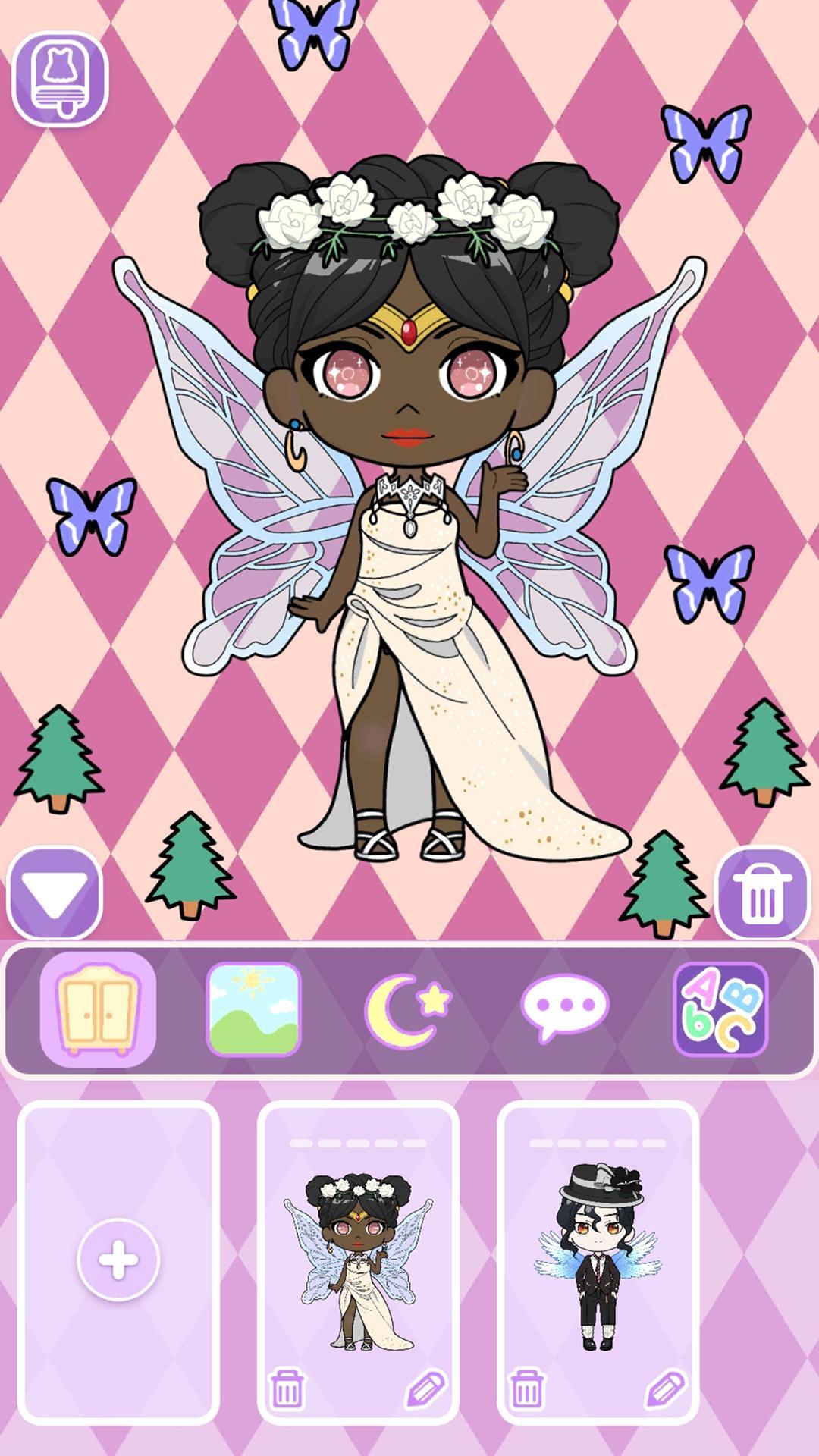 Vlinder Doll Dress up Games , Avatar Creator 1.2.1 Screenshot 4