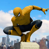 Spider Rope Hero Gangster New York City app icon