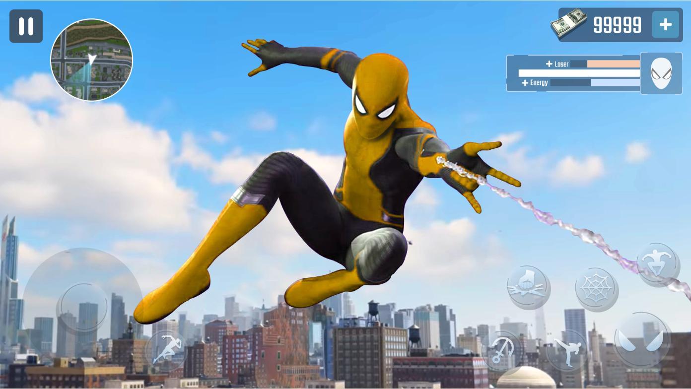 Spider Rope Hero Gangster New York City 1.0.15 Screenshot 1