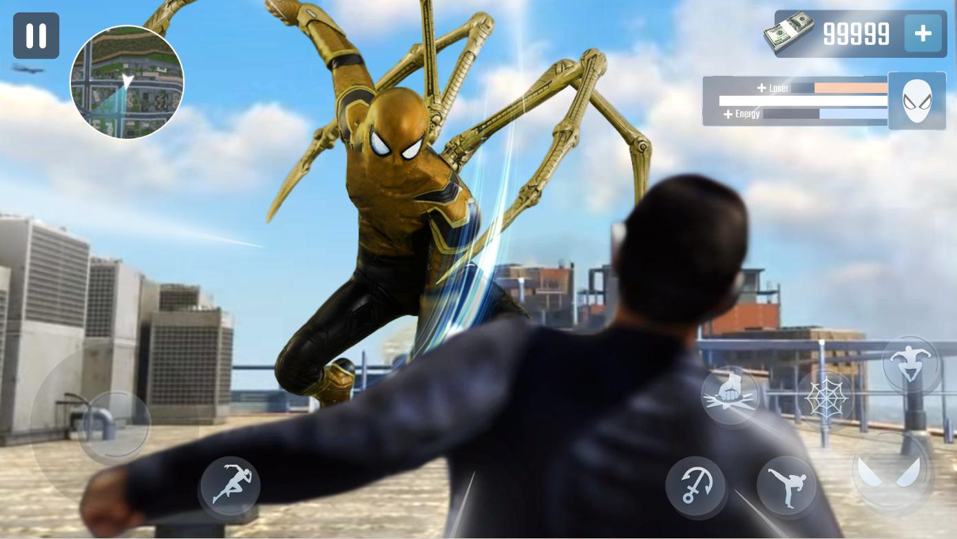 Spider Rope Hero Gangster New York City 1.0.15 Screenshot 2