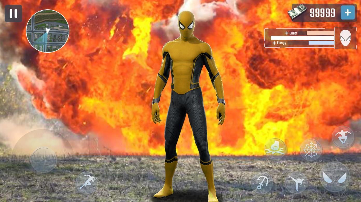 Spider Rope Hero Gangster New York City 1.0.15 Screenshot 3