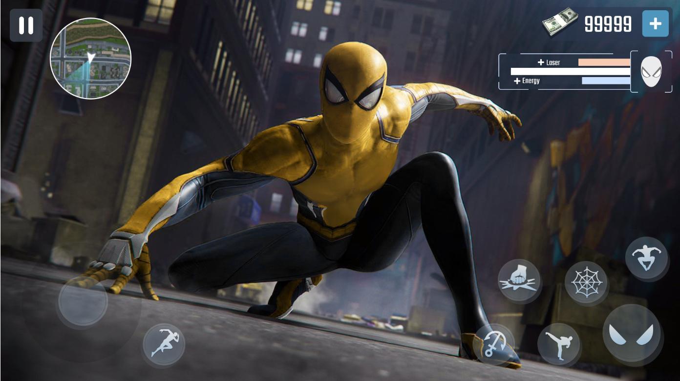 Spider Rope Hero Gangster New York City 1.0.15 Screenshot 4