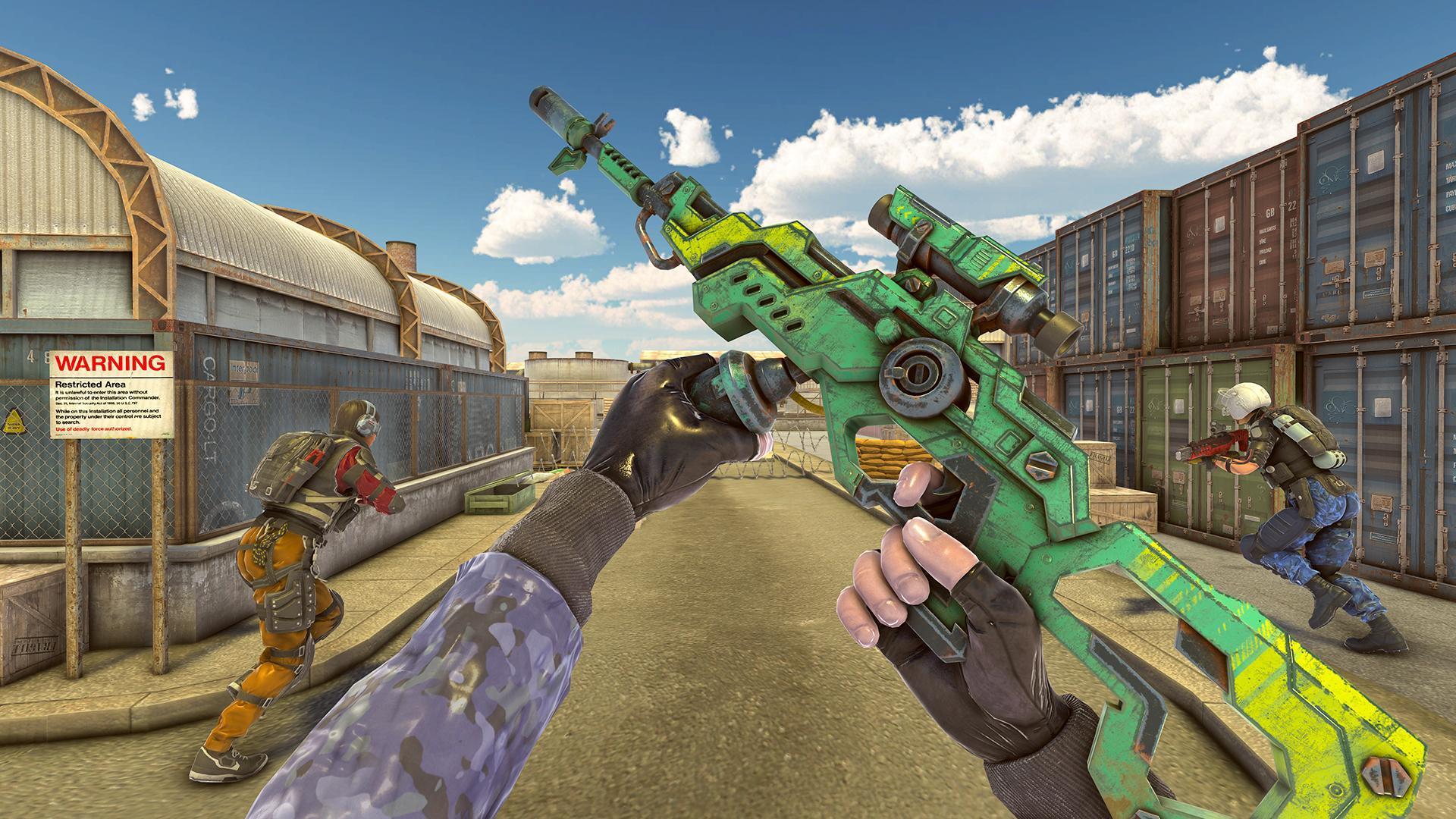 Legend Fire Battleground Shooting Game 1.9 Screenshot 1
