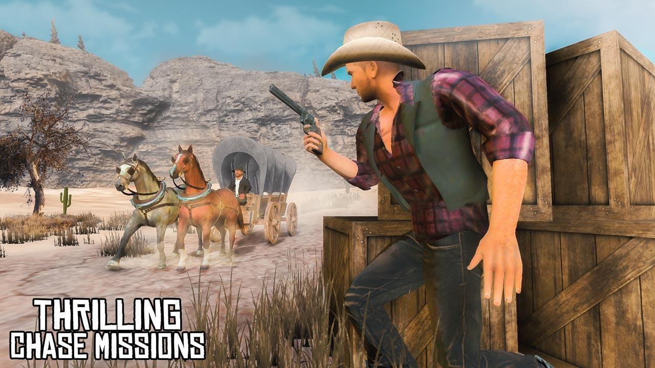 Wild West Gunslinger Cowboy Rider 1.1 Screenshot 1