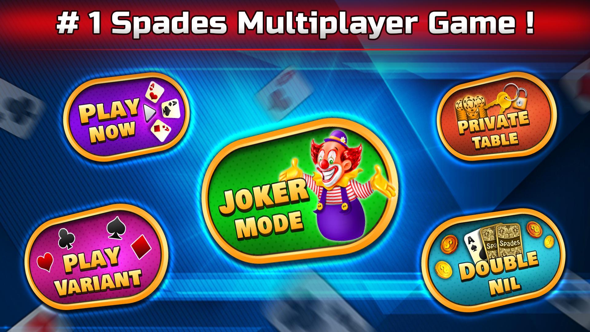 Spades Free - Multiplayer Online Card Game 1.6.3 Screenshot 1