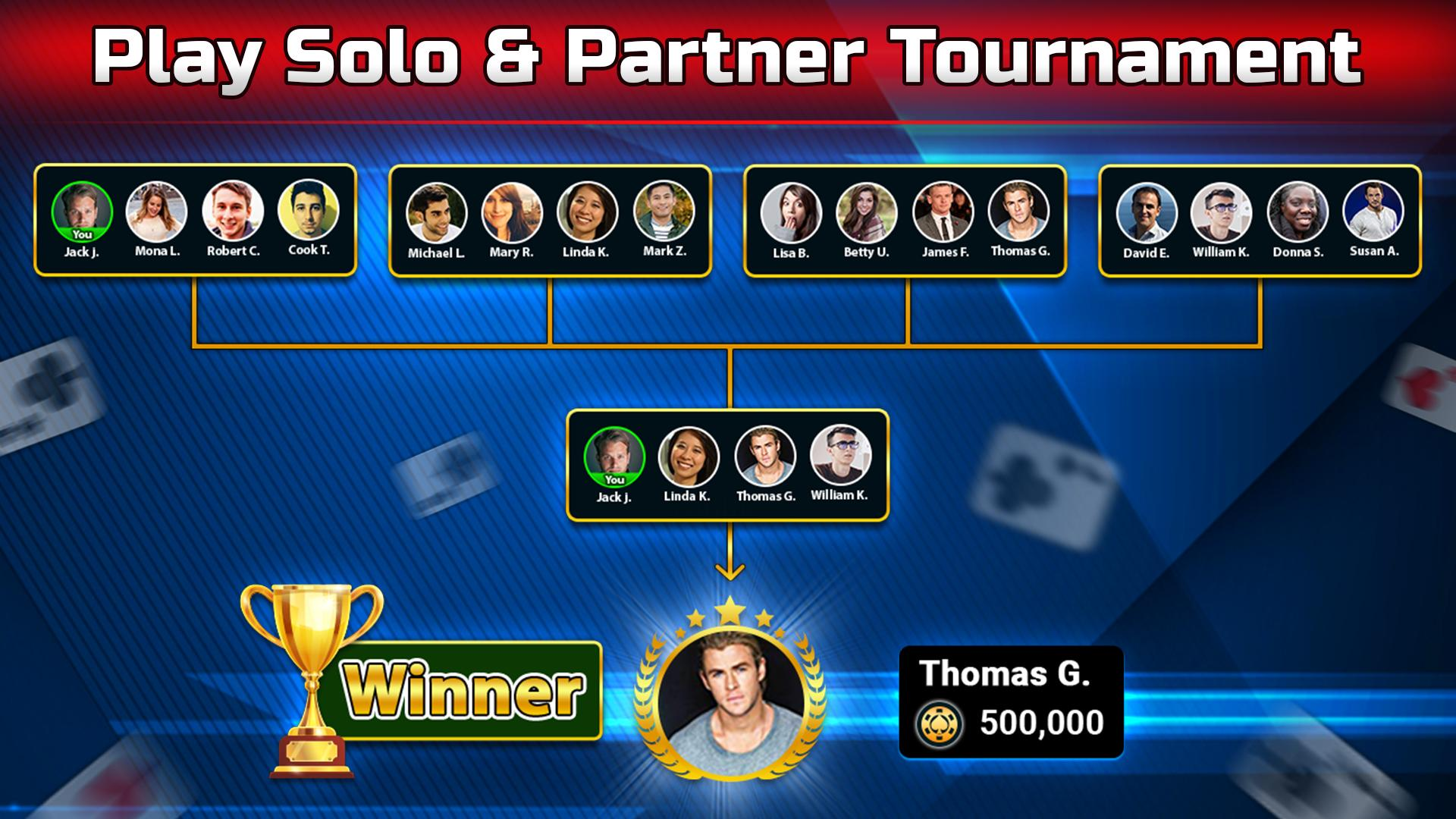 Spades Free - Multiplayer Online Card Game 1.6.3 Screenshot 4