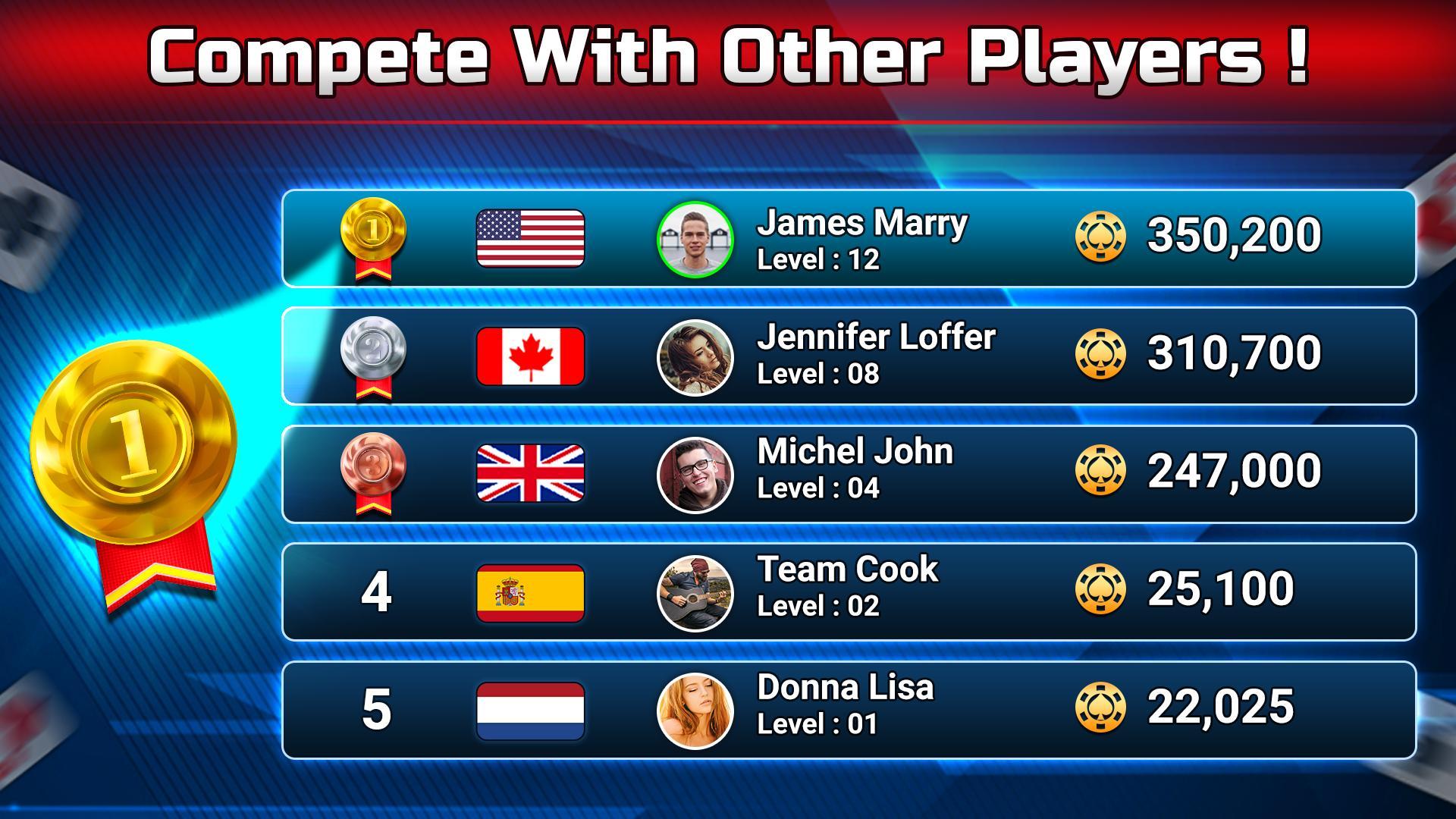 Spades Free - Multiplayer Online Card Game 1.6.3 Screenshot 6