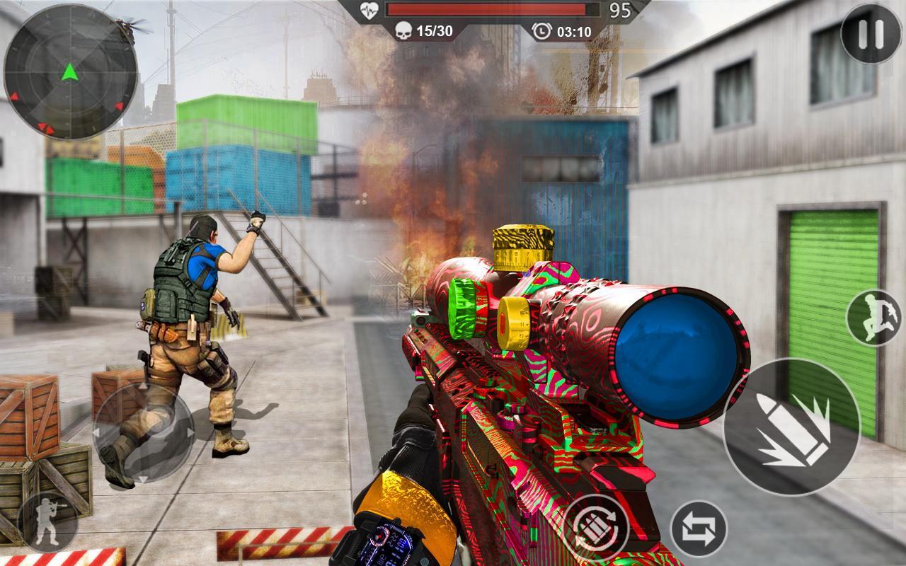 FPS Fire Team Shooter 3D: Sniper Shooter Ops 2020 1.0 Screenshot 12
