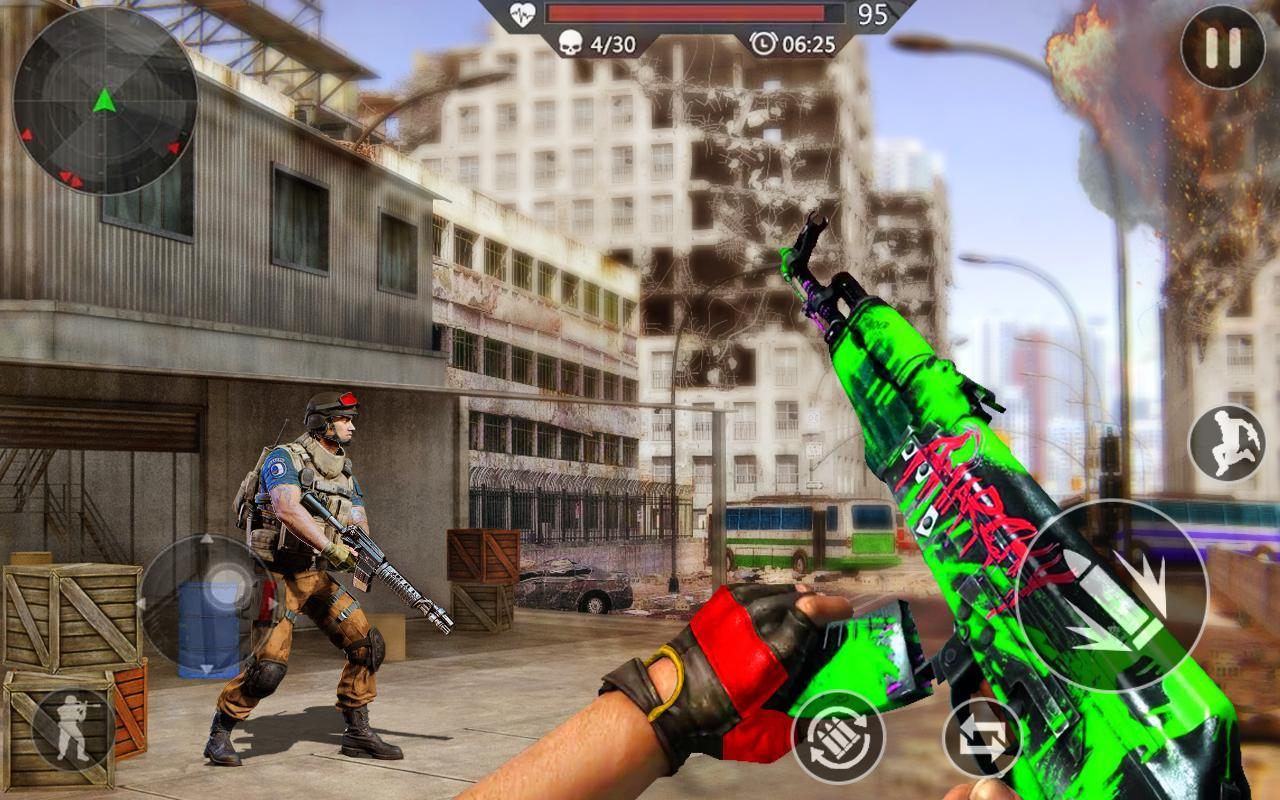 FPS Fire Team Shooter 3D: Sniper Shooter Ops 2020 1.0 Screenshot 4