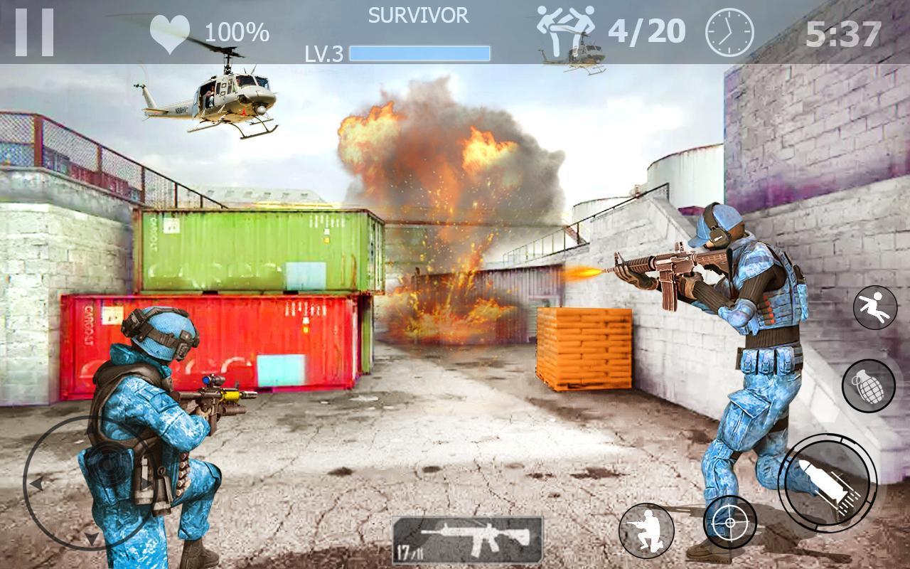 FPS Fire Team Shooter 3D: Sniper Shooter Ops 2020 1.0 Screenshot 5