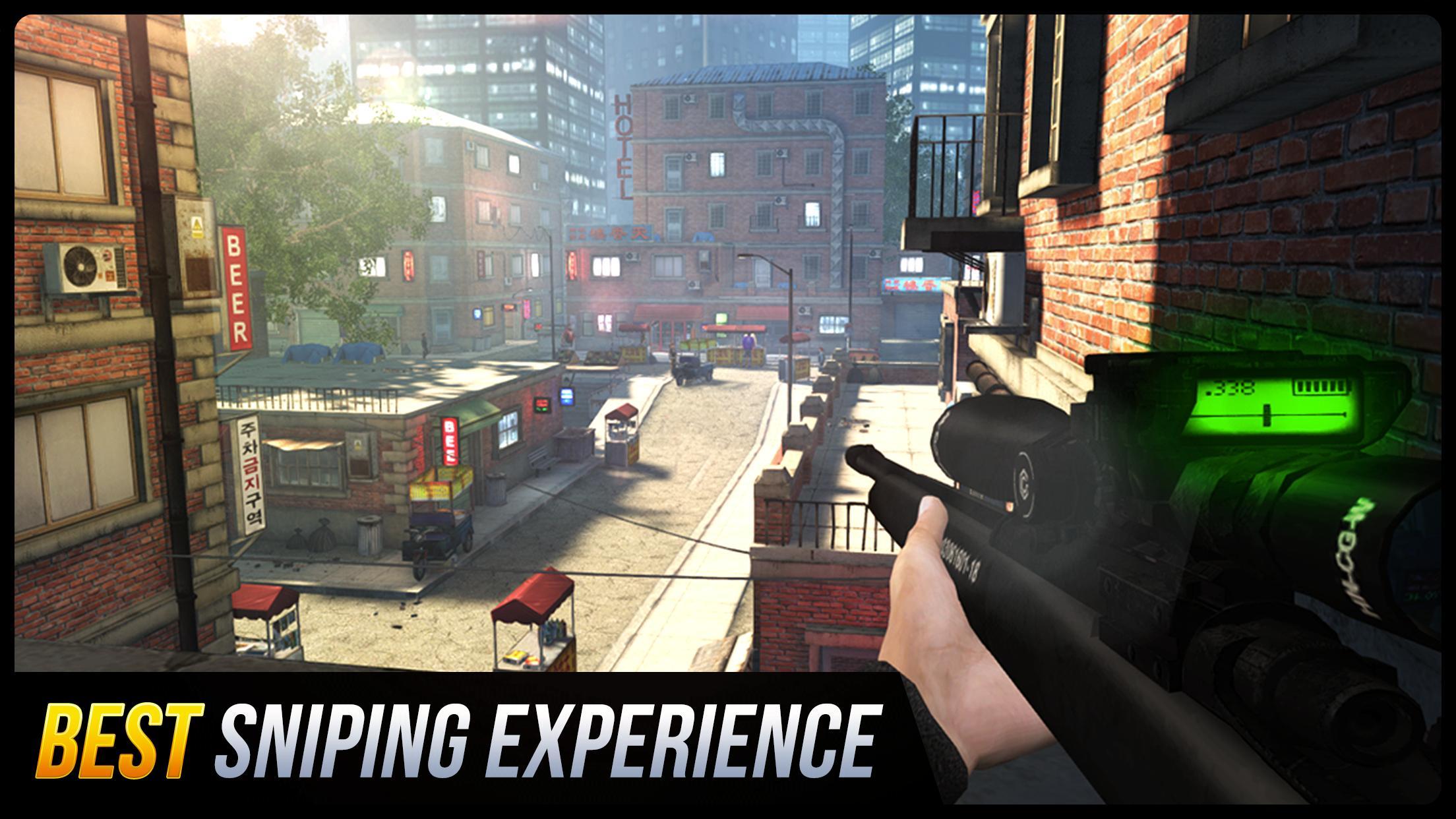 Sniper Honor: Fun FPS 3D Gun Shooting Game 2020 1.8.1 Screenshot 1