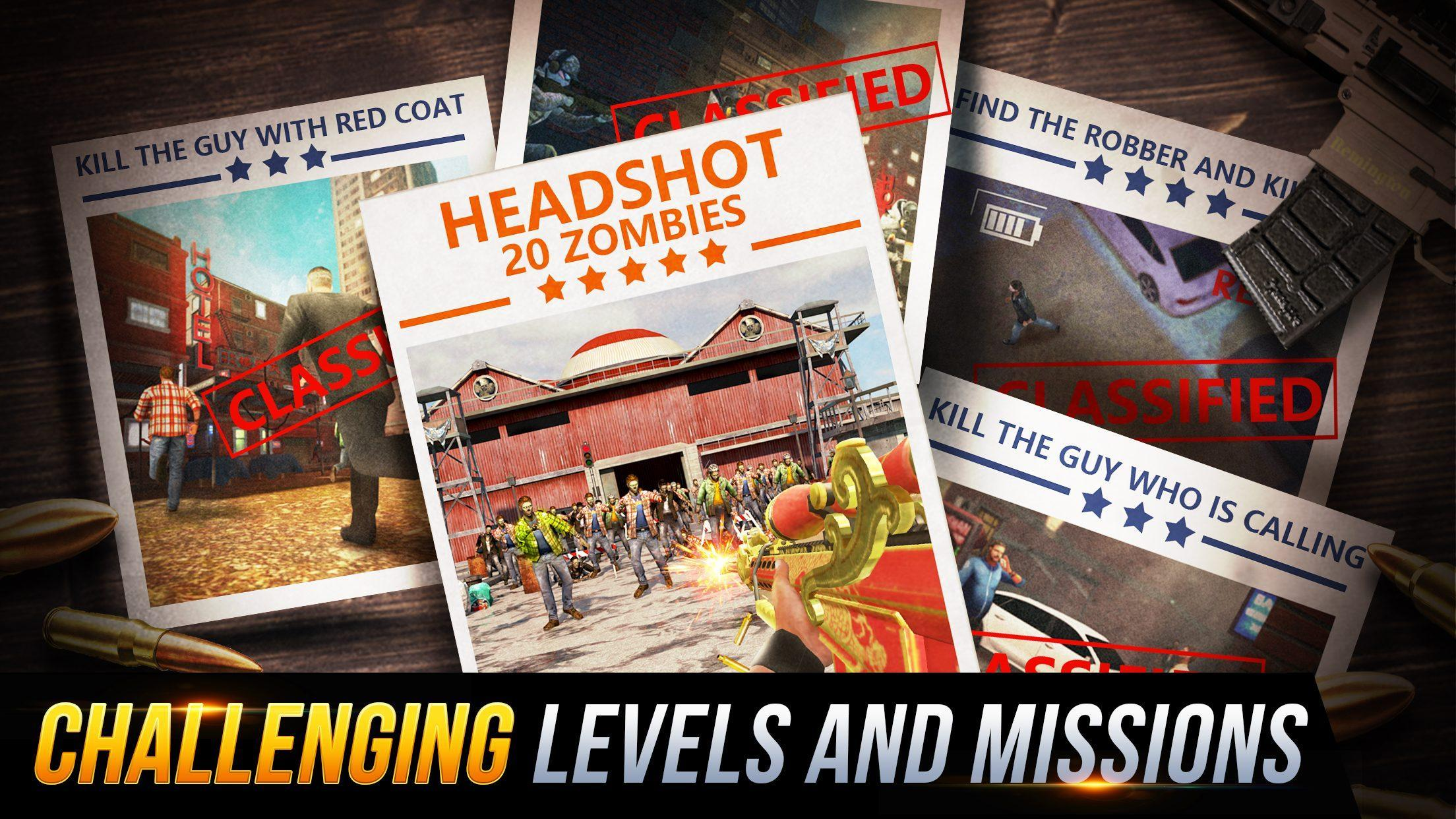 Sniper Honor: Fun FPS 3D Gun Shooting Game 2020 1.8.1 Screenshot 4