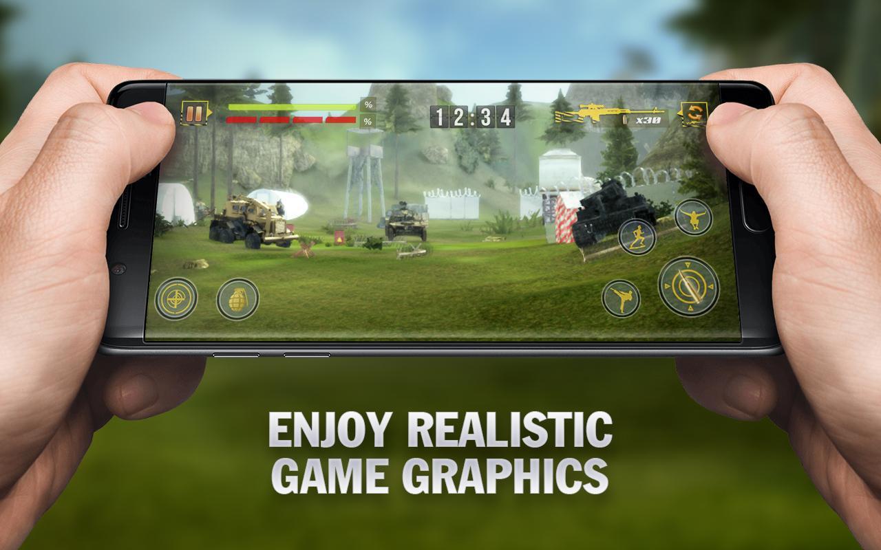 Fort Squad Battleground - Survival Shooting Games 1.2.2 Screenshot 3