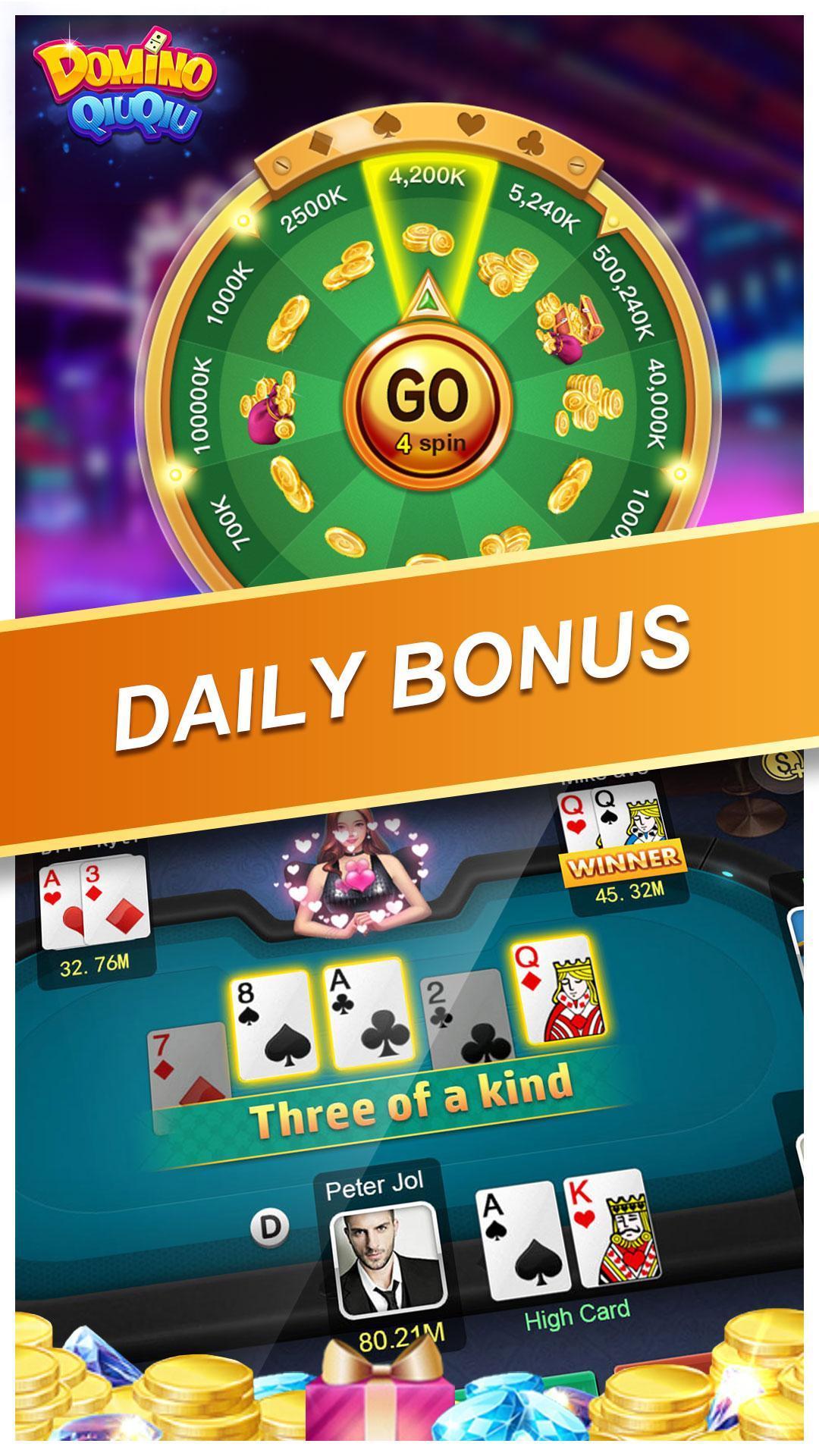 Domino QiuQiu KiuKiu Online(koin gratis) 2.3.9 Screenshot 3