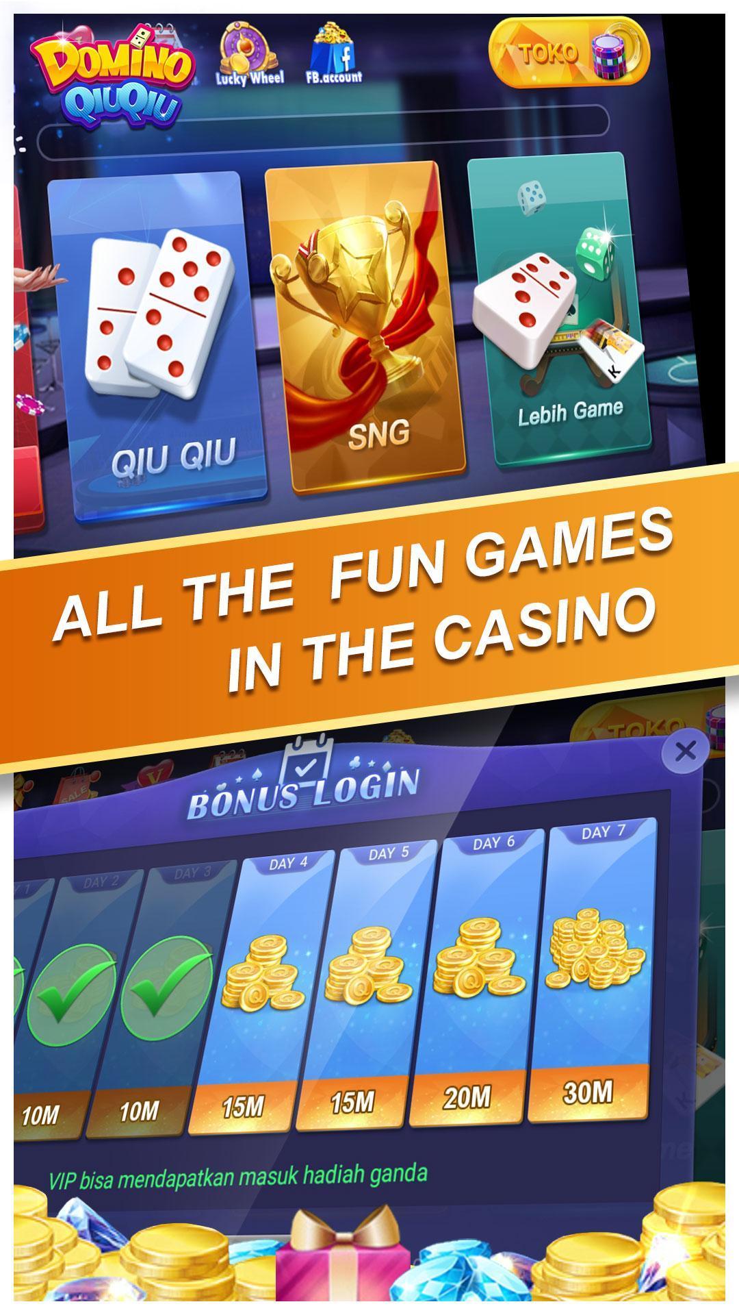 Domino QiuQiu KiuKiu Online(koin gratis) 2.3.9 Screenshot 6