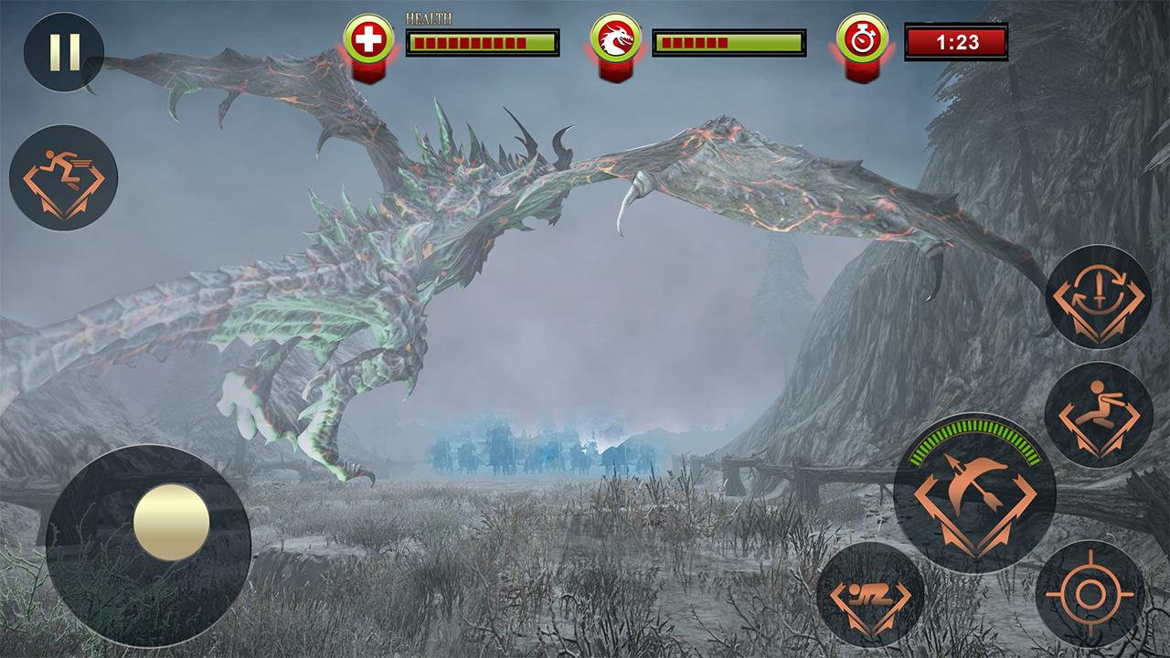 Battle of Mighty Dragons: Archery Games 2019 2.0 Screenshot 2