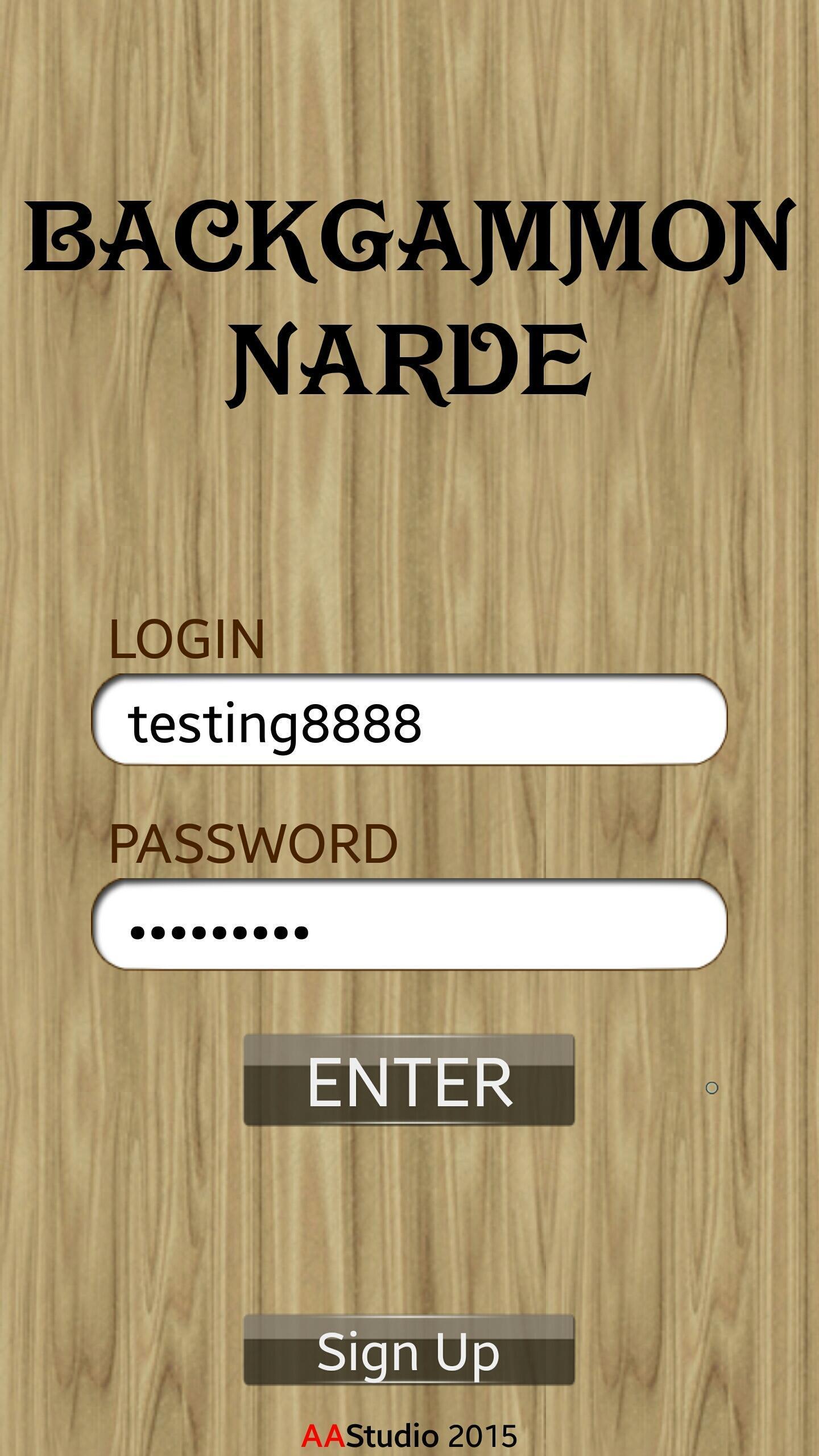 Backgammon - Narde 6.09 Screenshot 2