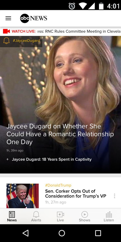 ABC News US & World News 5.4.3 Screenshot 1