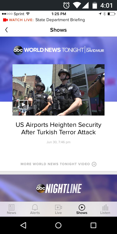 ABC News US & World News 5.4.3 Screenshot 5