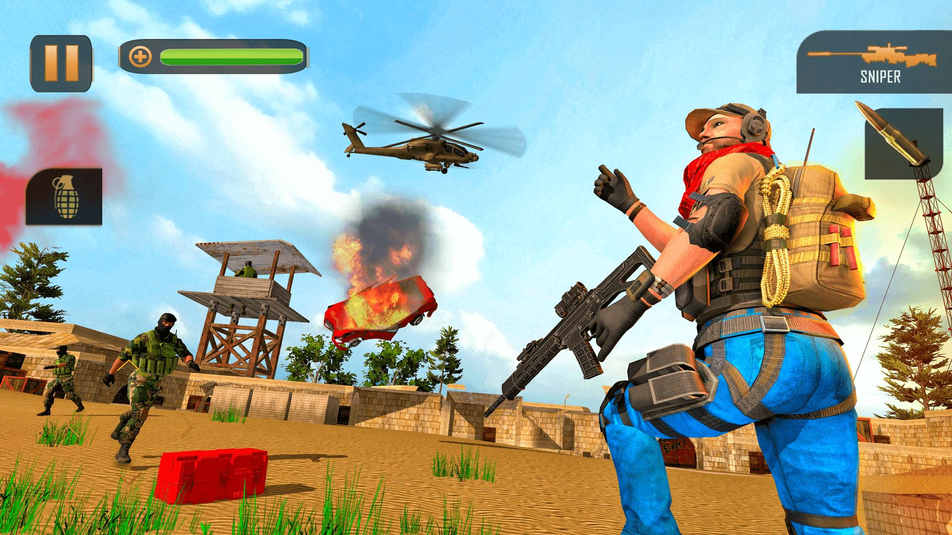 New Counter Terrorist Gun Shooting Game 1.0.5 Screenshot 8