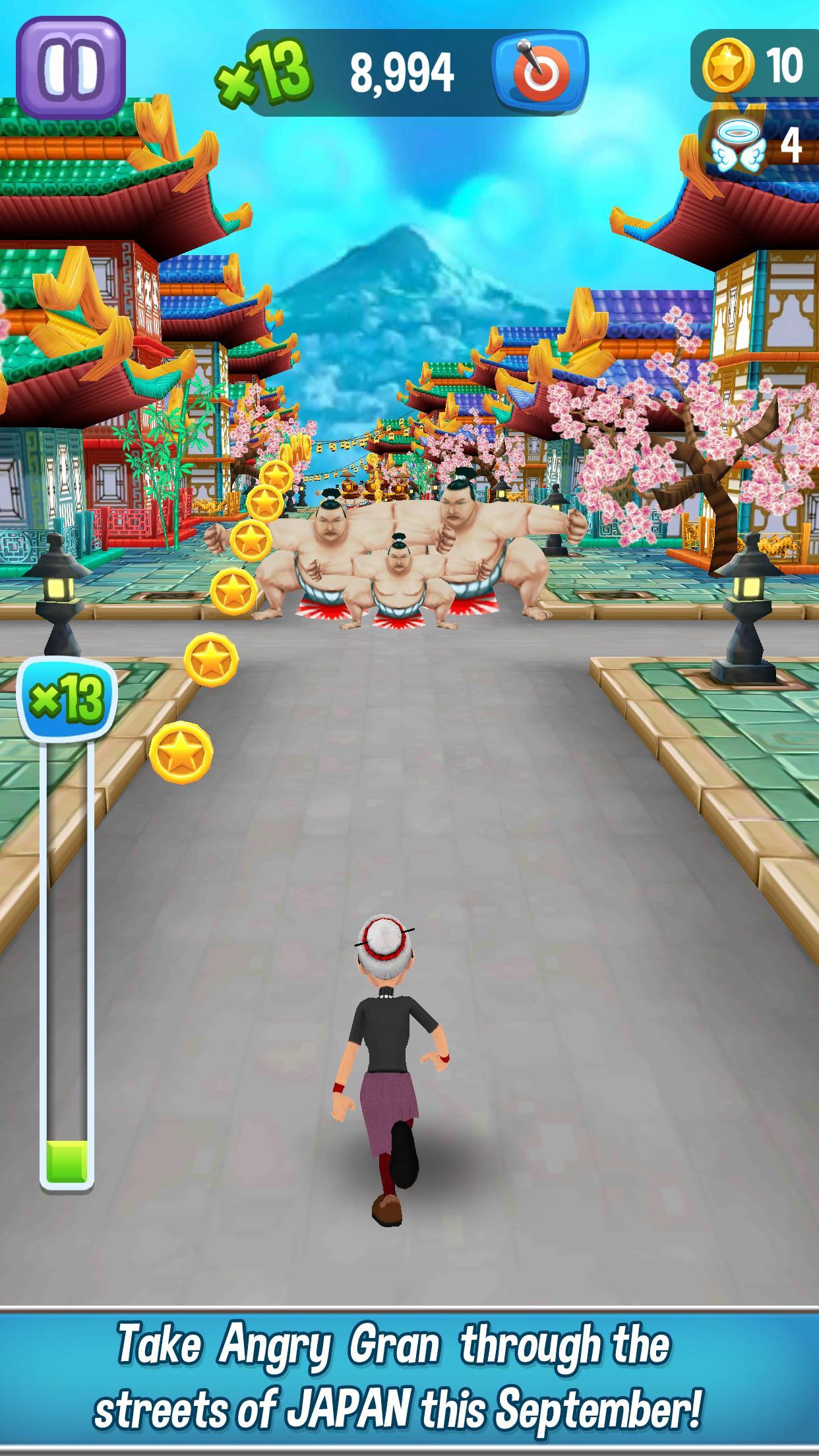 Angry Gran Run Running Game 2.12.1 Screenshot 2