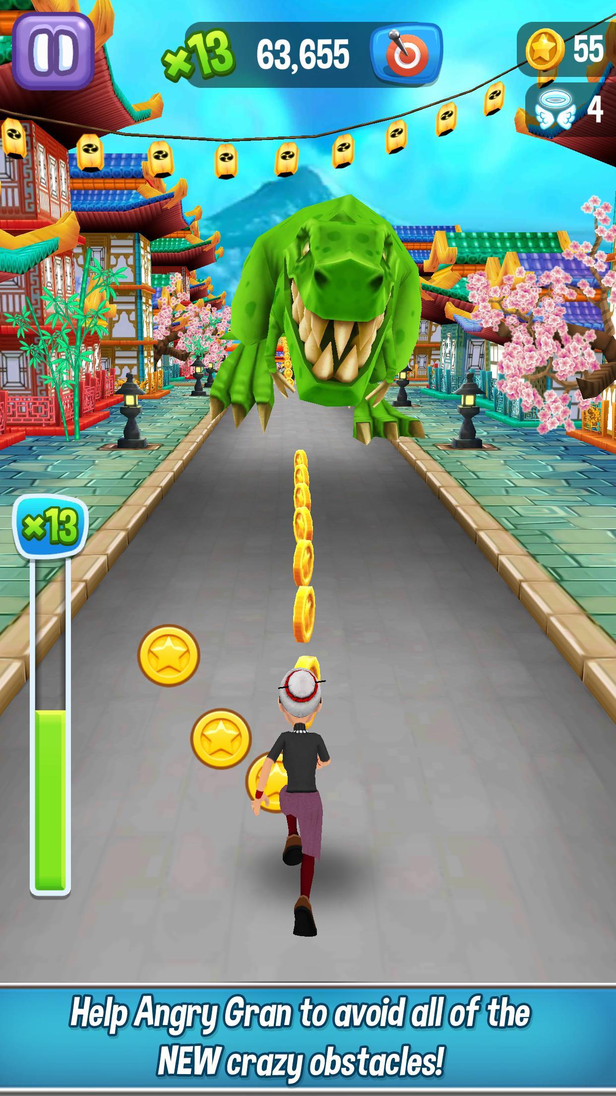 Angry Gran Run Running Game 2.12.1 Screenshot 5