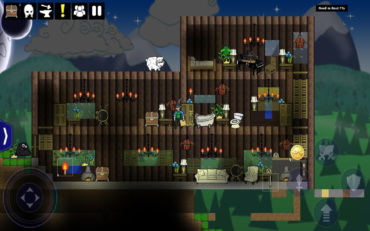 The HinterLands: Mining Game 0.448 Screenshot 1