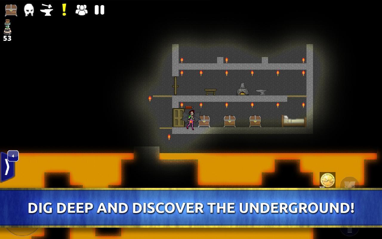 The HinterLands: Mining Game 0.448 Screenshot 4