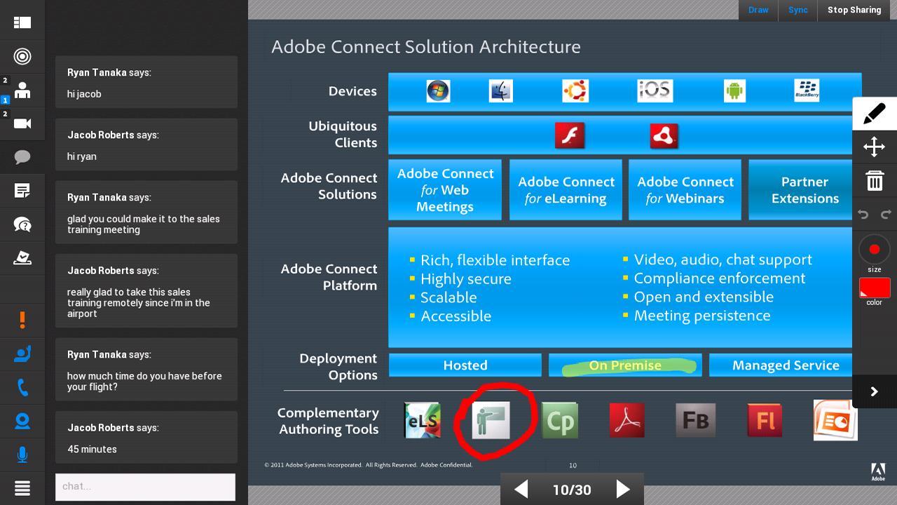 Adobe Connect 2.6.9 Screenshot 14